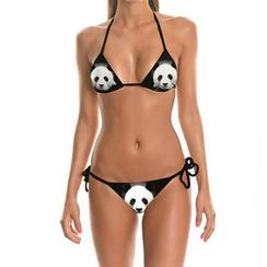 Omifa - 熊猫印花比基尼