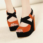 Mancienne - Color-Block Wedges