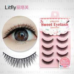 Litfly - Eyelash # 125 (5 pairs)