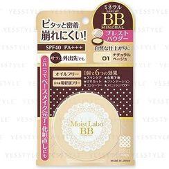 brilliant colors - Moist Labo BB Mineral Powder (#01 Natural Beige)