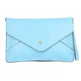 Smoothie - Faux-Leather Envelope Clutch