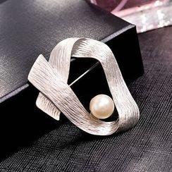 Best Jewellery - Faux Pearl Brooch