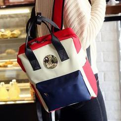 Youme - Camo Applique Backpack