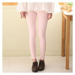 Sechuna - Colored Skinny Pants