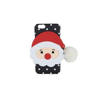 DABAGIRL - Pompom Santa Dot iPhone 6 / 6 Plus / 7 / 7 Plus Case