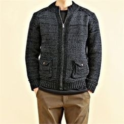 THE COVER - Zip-Up Cardigan