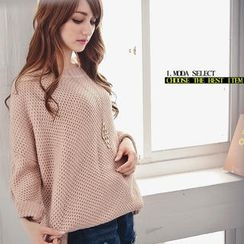 OrangeBear - Roundneck Knit Top