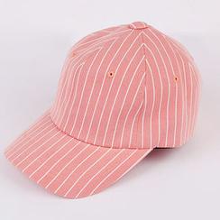 chuu - Striped Baseball Cap