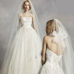 Neostar - Rhinestone Wedding Veil
