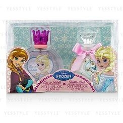 Air Val International - Disney Frozen Coffret: Eau De Toilette Spray 100ml/3.4oz + Bubble Bath 200ml/6.8oz