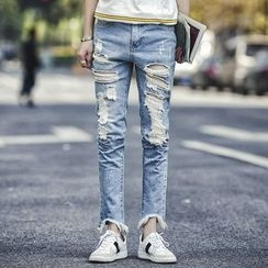 Danjieshi - Distressed Jeans