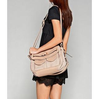 yeswalker - Dual-Pocket Shoulder Bag