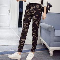 Glen Glam - Camouflage Harem Pants