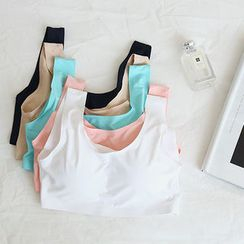 NANING9 - Padded Bandeau Top