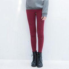CatWorld - High-Waist Skinny Jeans
