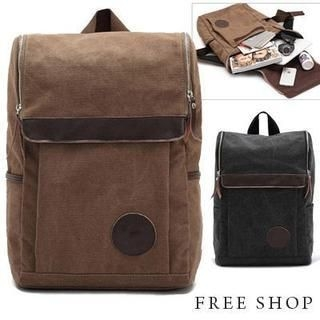 Free Shop - Canvas Backpack