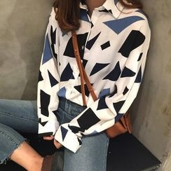 Frontline - Printed Long-Sleeve Shirt