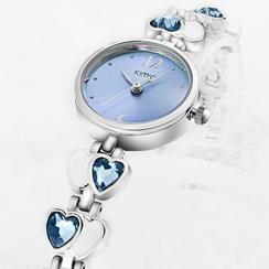 Periwinkle - Jeweled BraceletWatch