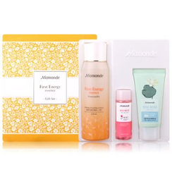 Mamonde - First Energy Essence Gift Set: Essence 150ml + Lotus Micro Cleansing Foam 50ml + Rose Water Toner 25ml
