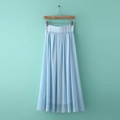 RainbowDay - Pleated Maxi Skirt