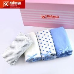 Kafanya - Set of 4: Panties