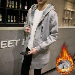 Masowild - Long Hooded Jacket