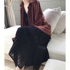 Bloombloom - Long-Sleeve Blouse