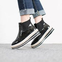 VIVIER - Banded High-Top Slip-Ons (2 Designs)