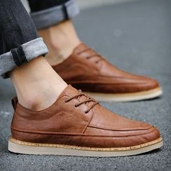 Shino - Wing-Tip Lace-Up Oxfords