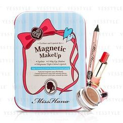 Miss Hana - Eyeliner And Lipstick Make Up Magnetic Kit (2 Edition)
