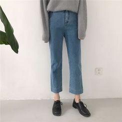 Dasim - 宽腿九分牛仔裤