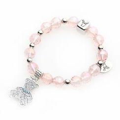 MIPENNA - Cute Pink Bear Bracelet