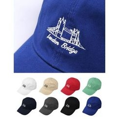 STYLEMAN - Bridge Embroidered Baseball Cap