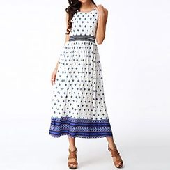 Rebecca - Printed Midi Dress
