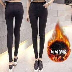 菲兒 - 纯色窄身裤
