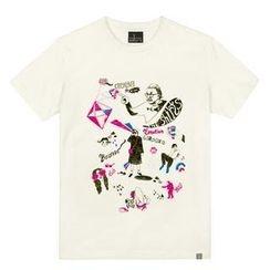 the shirts - Milk Print T-Shirt