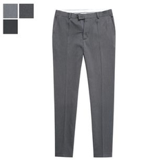 DANGOON - Brushed-Fleece Lined Tapered Dress Pants