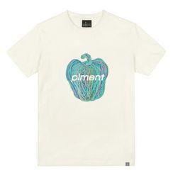 the shirts - Blue Piment Print T-Shirt