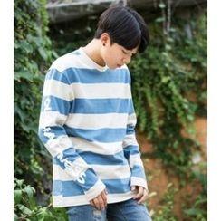 ABOKI - Cotton Stripe T-Shirt