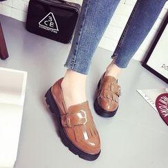 Chryse - 流蘇粗跟樂福鞋