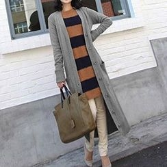 Isadora - Pocketed Long Cardigan
