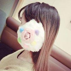 Ticoo - Floral Bobble Earmuff