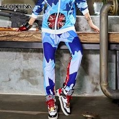 Cooreena - Printed Sweatpants