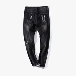 MRCYC - Washed Straight-Leg Jeans