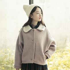 Sens Collection - 内加绒翻领外套