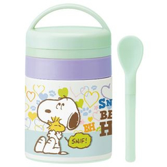 Skater - SNOOPY Stainless Pot for Baby
