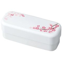 Hakoya - Hakoya SAKURA Slim Compact Lunch Box (White)