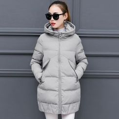 lilygirl - Hooded Padded Coat