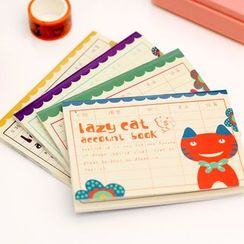 Coco Store - Printed Cash Notebook