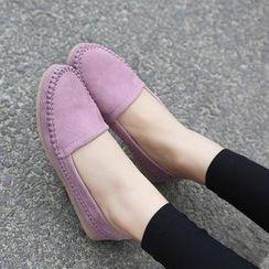 安若 - 人造皮乐福鞋